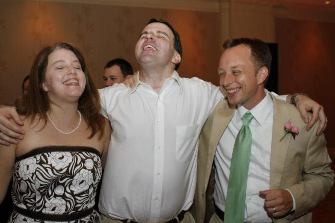 Jimmy wedding fun
